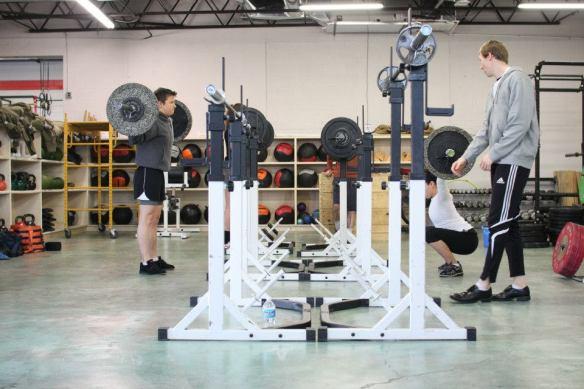 rack set up