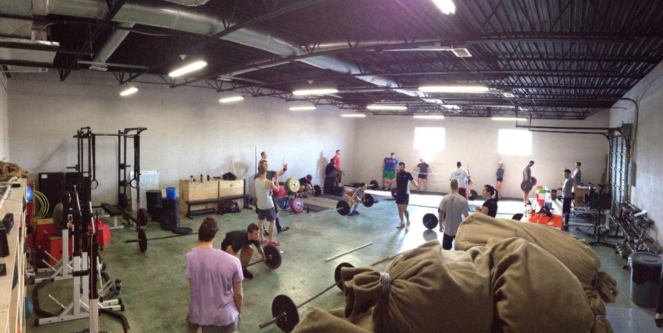 Learning and working the snatch at the first Sabatini Strength Seminar (6/8/13)