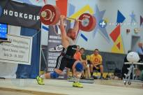 Travis Cooper (-85kg) jerking 191kg at 2013 USAW Nationals for 1st place. Watch for him at the Arnolds next weekend.