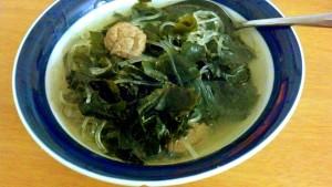 miyeokguk (seaweed soup)